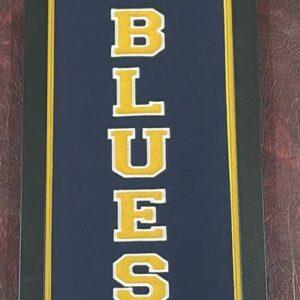 Blues banner