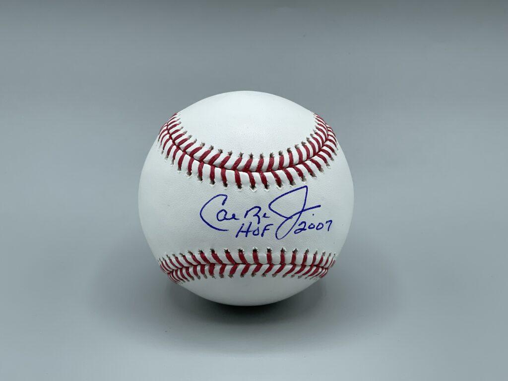 Cal Ripken, Jr. Baseball Autographed