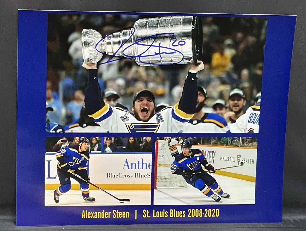 Alexander Steen Photo Collage Autographed